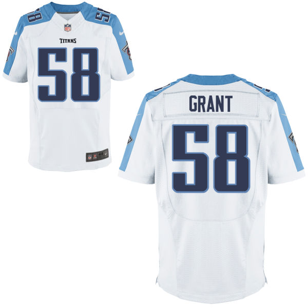 Curtis Grant Nike Tennessee Titans Elite White Jersey